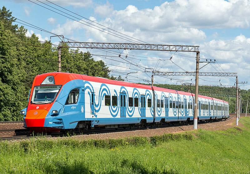 Поезд Иволга на МЦД