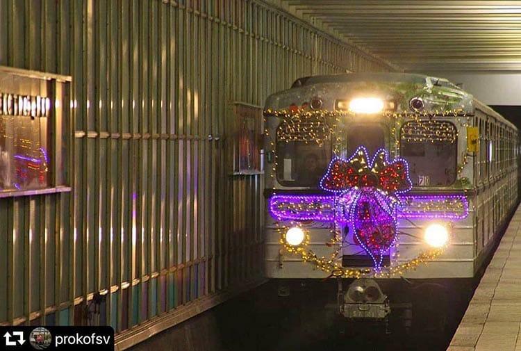 Бесплатный проезд в новогоднюю ночь в Москве